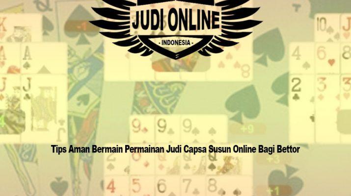 Capsa Susun Online - DominoQQ | BandarQ | Poker Adalah Judi Online